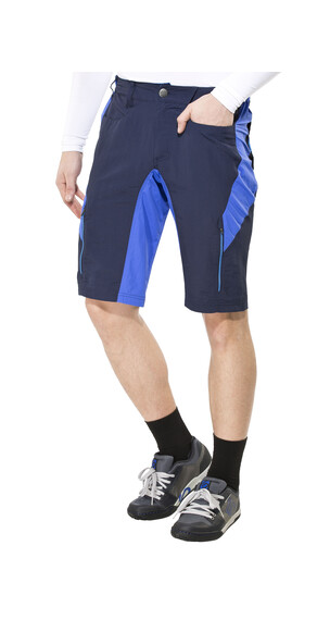 Endura Singletrack III Miehet pyöräilyhousut , sininen